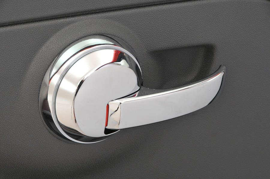 Fiat 500 chrome door handle