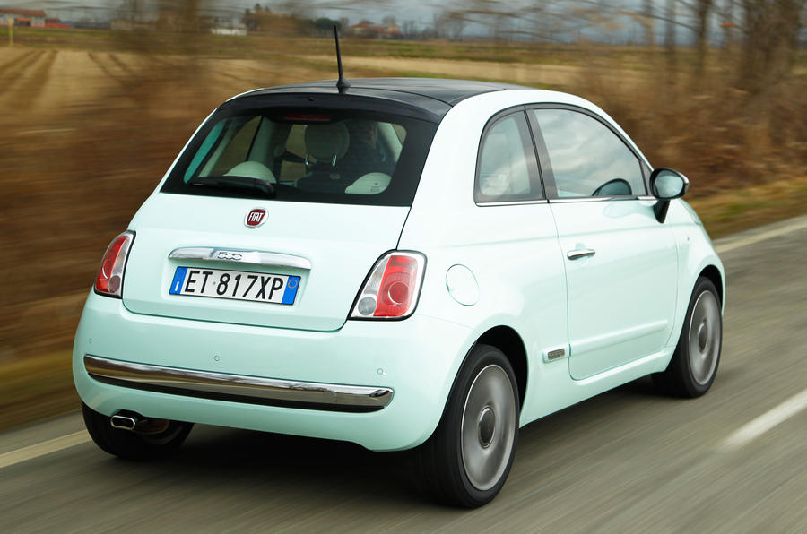Fiat 500 Cult TwinAir 105 rear
