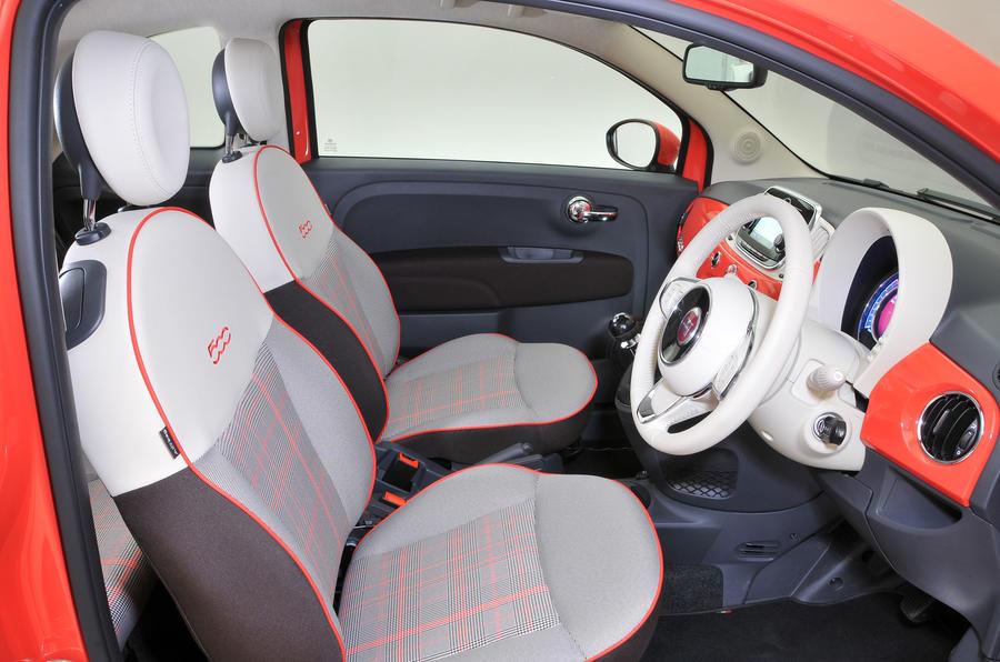 Lovely ... Fiat 500 Interior ...