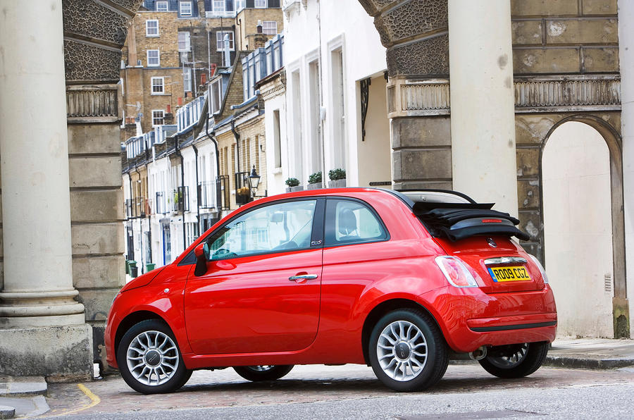 4 stat Fiat 500C