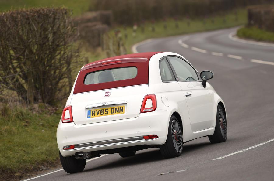 Fiat 500C rear