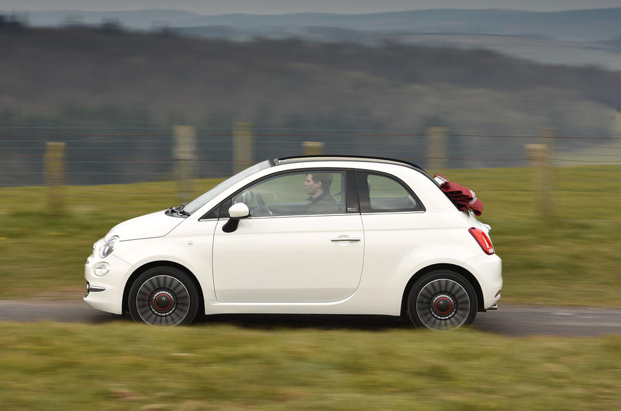 Fiat 500C side profile