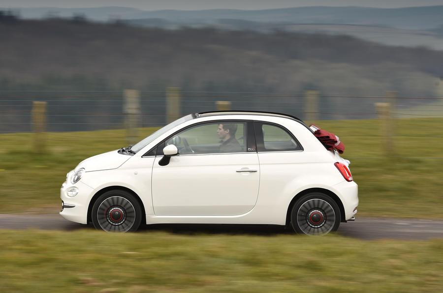 Fiat 500C side profile