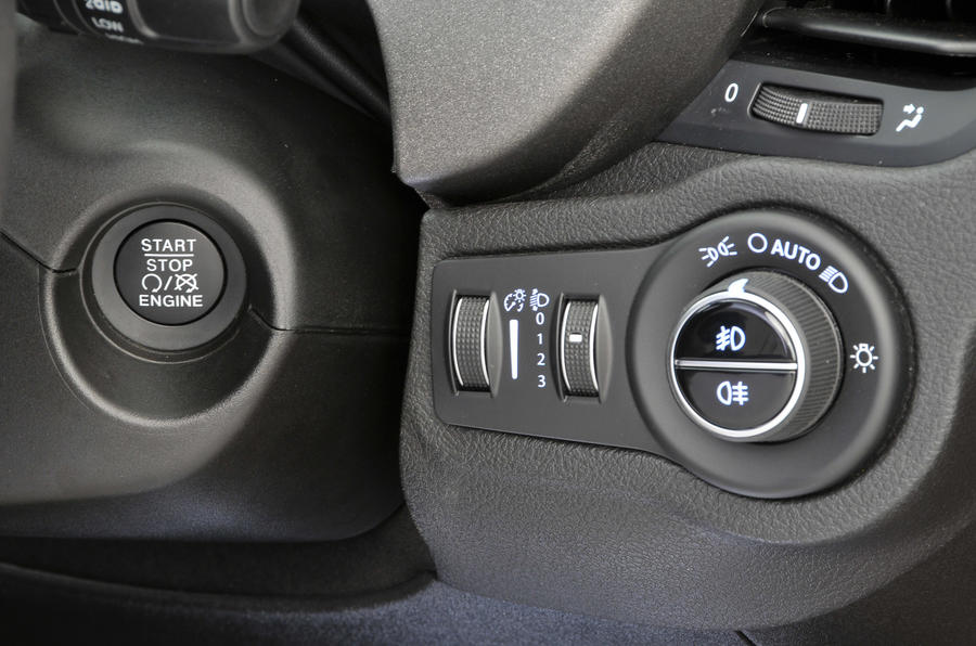 Fiat 500X keyless ignition