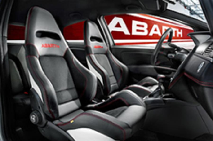 Sabelt seats for Abarth Punto