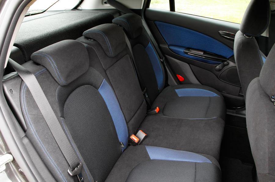 Fiat Bravo rear seats