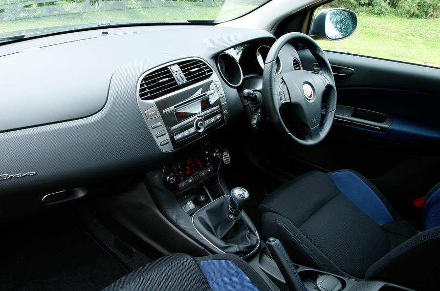 Fiat Bravo interior