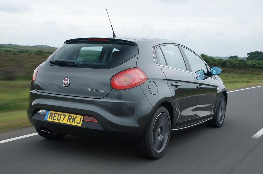 Fiat Bravo rear quarter