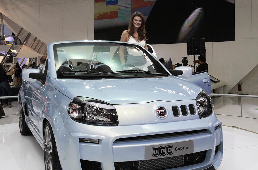 Fiat launches Uno Cabriolet