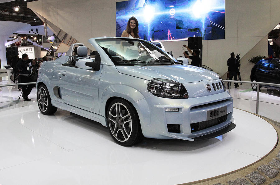 Fiat launches Uno Cabriolet