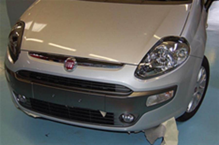 New Fiat Grande Punto pictured