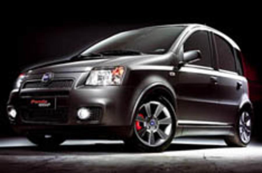 Fiat unveils 100bhp hot Panda