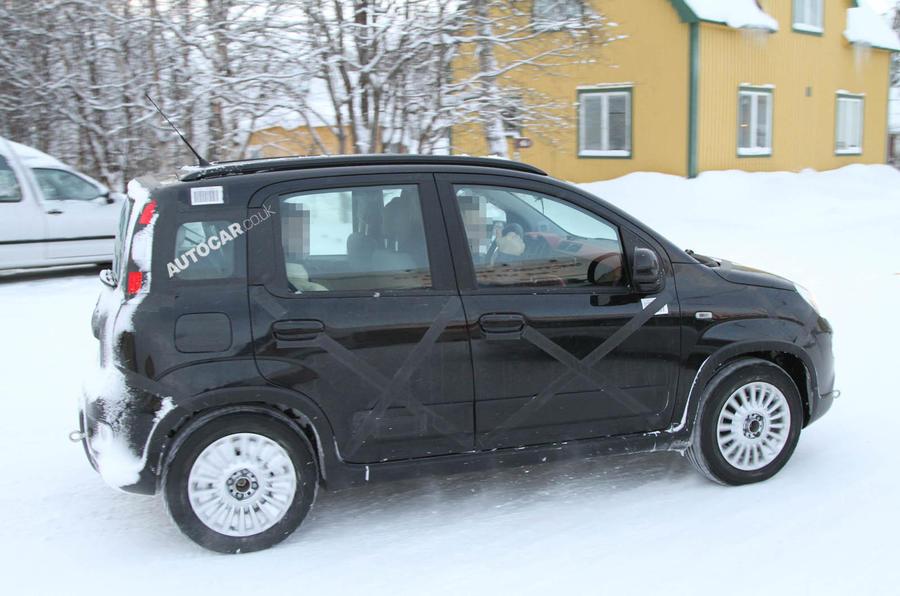 Spy pictures: Fiat Panda 4x4