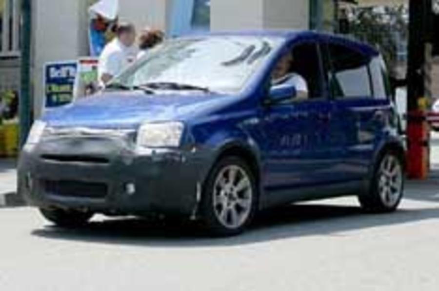 Fiat's sporty Panda caught testing