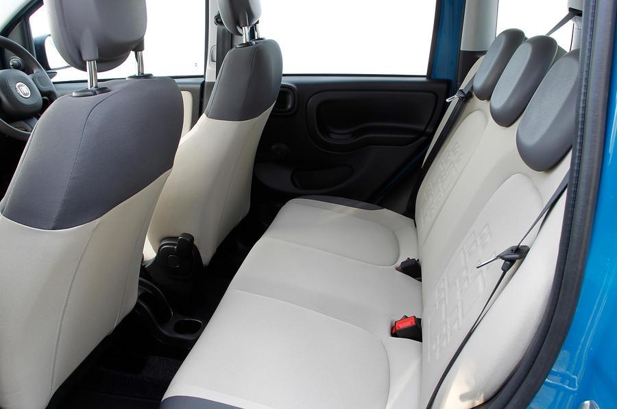 Fiat Panda rear seats