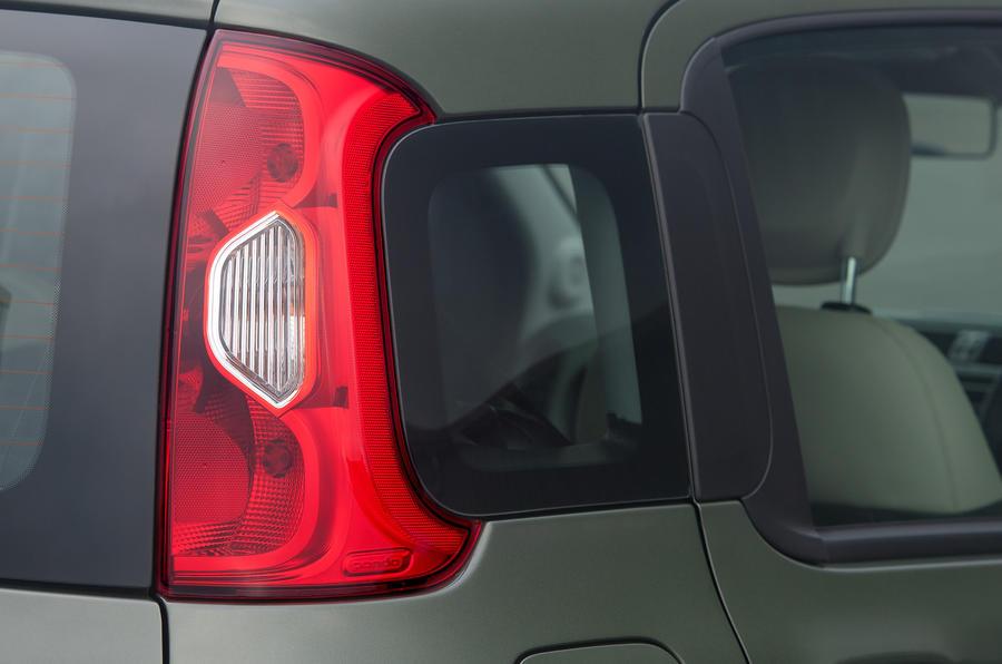 Fiat Panda 4x4 rear lights