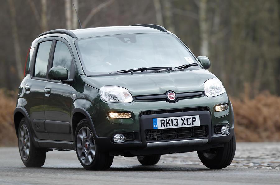 Fiat Panda 4x4 cornering