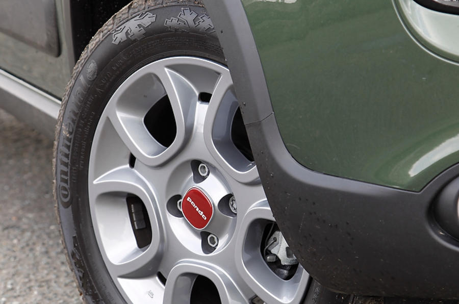 15in Fiat Panda 4x4 alloys