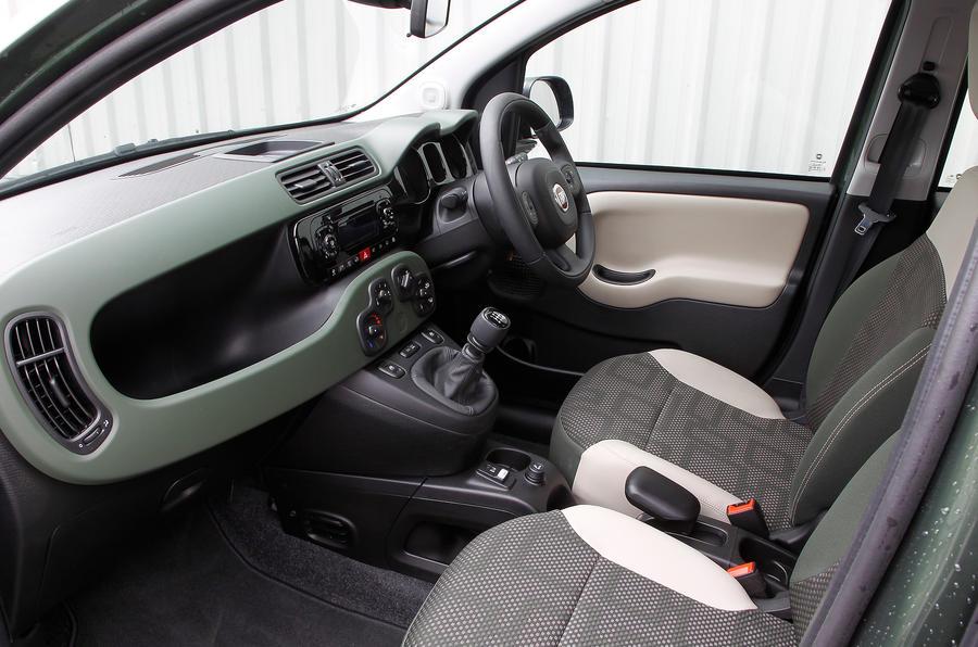 Fiat Panda 4x4 interior