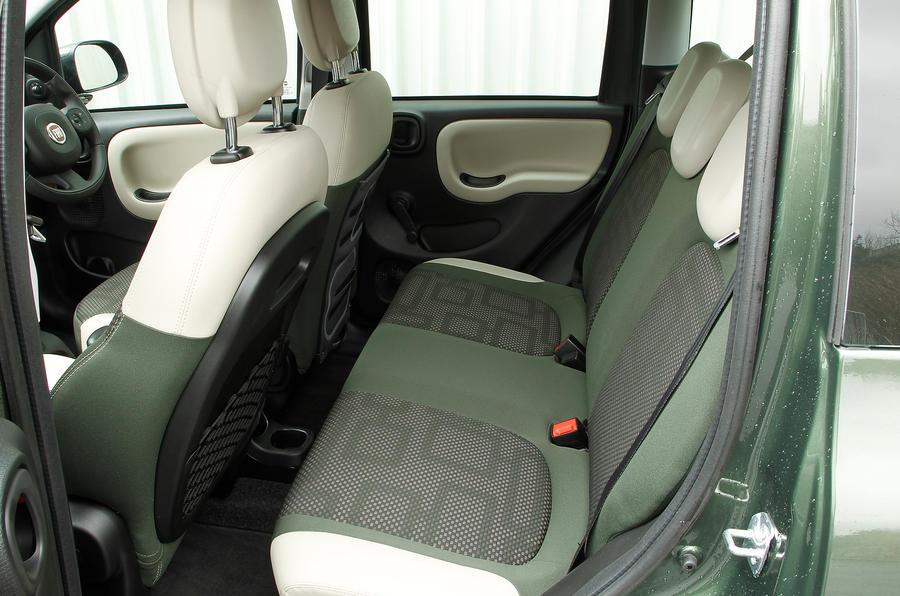 Fiat Panda 4x4 rear seats