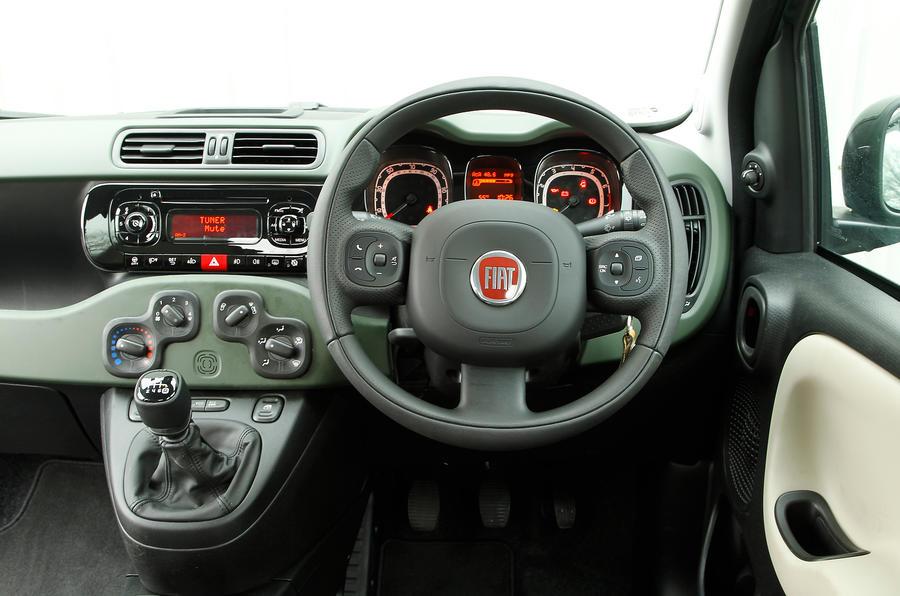 Fiat Panda 4x4 dashboard