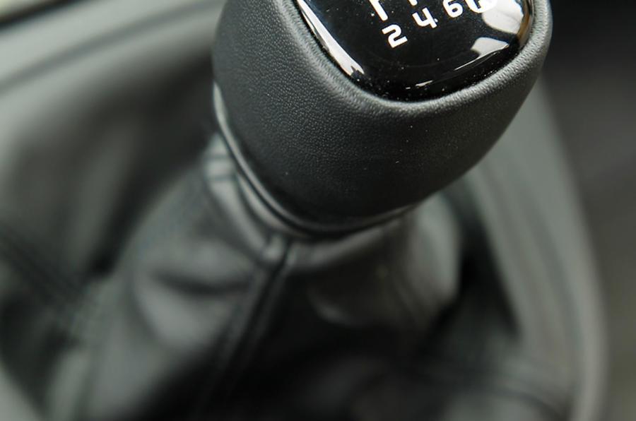 Fiat Panda 4x4 manual gearbox
