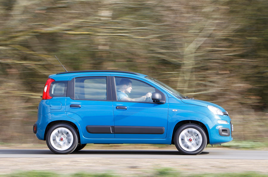 Fiat Panda side profile