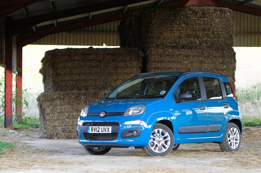 4 star Fiat Panda