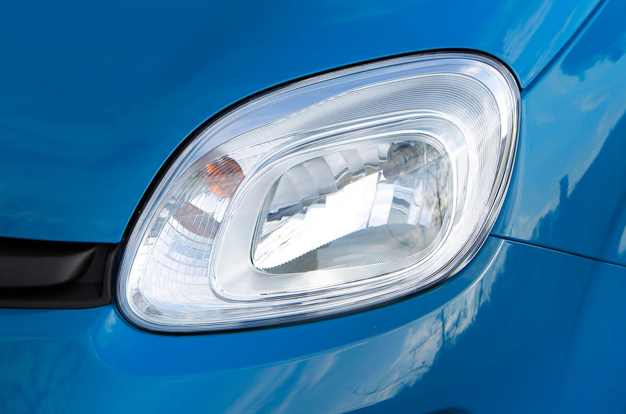 Fiat Panda headlight