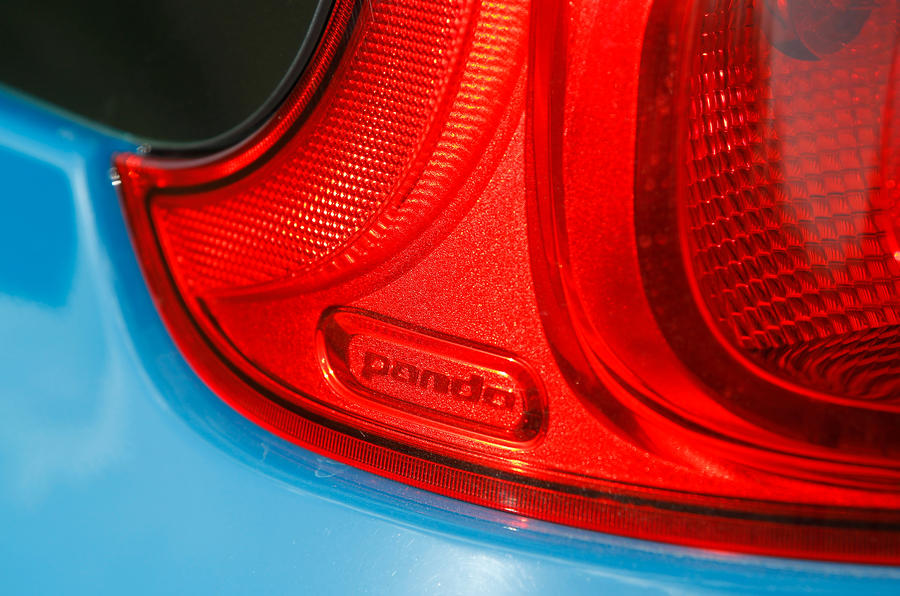 Fiat Panda high-set rear light