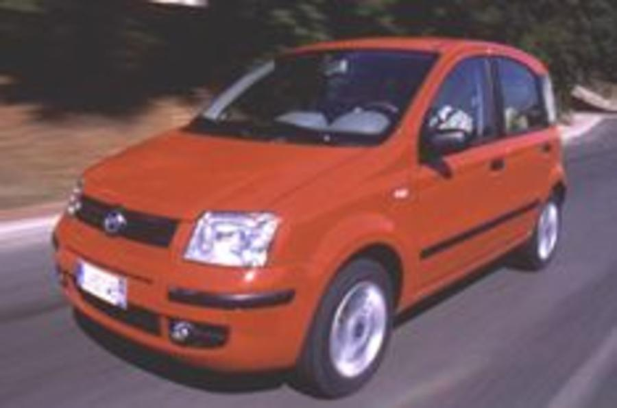 Fiat Panda is Car of the Year 2004