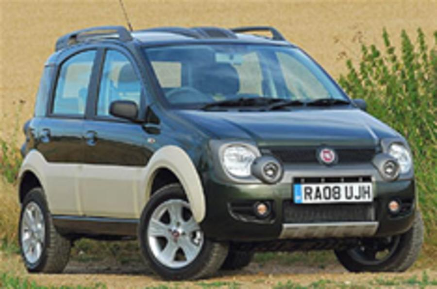 Fiat panda cross for uk autocar for Panda 4x4 sisley off road