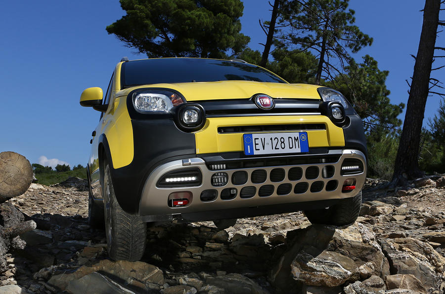 Fiat Panda Cross Twinair Turbo first drive review