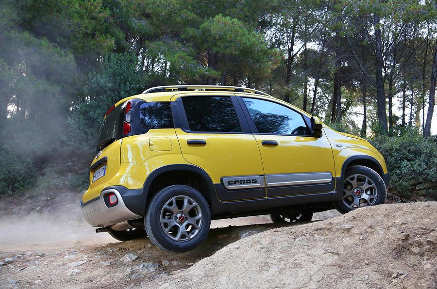 Fiat Panda Cross off-roading