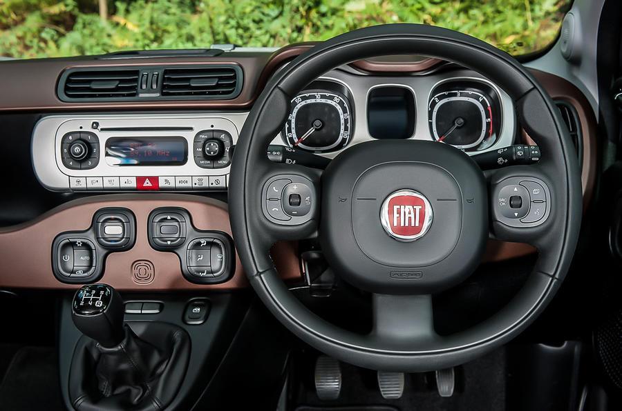 Fiat Panda Cross dashboard
