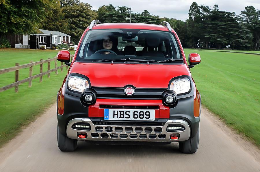 Fiat Panda Cross 1.3 MultiJet front end
