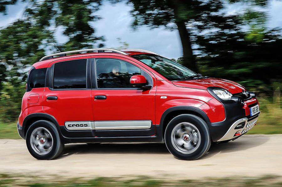 Fiat Panda Cross side profile