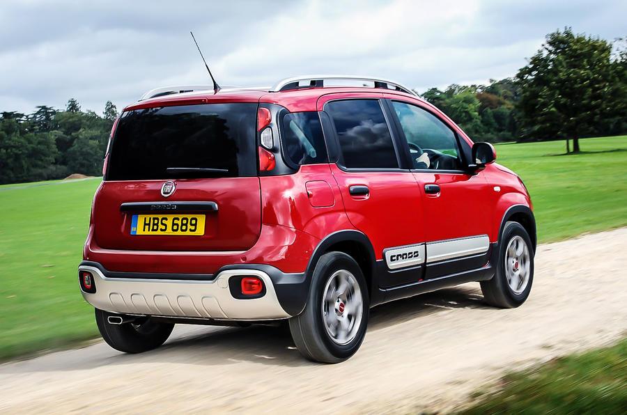 Fiat Panda Cross rear end