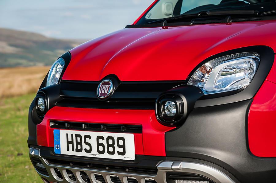 Fiat Panda Cross rugged front
