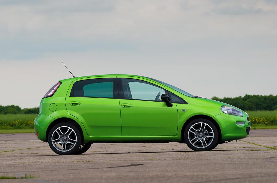 Fiat Punto side profile