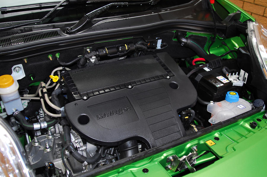 Fiat Qubo turbodiesel engine
