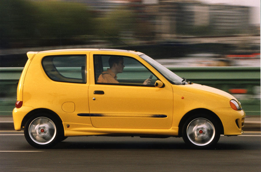 New Fiat Seicento kills Topolino