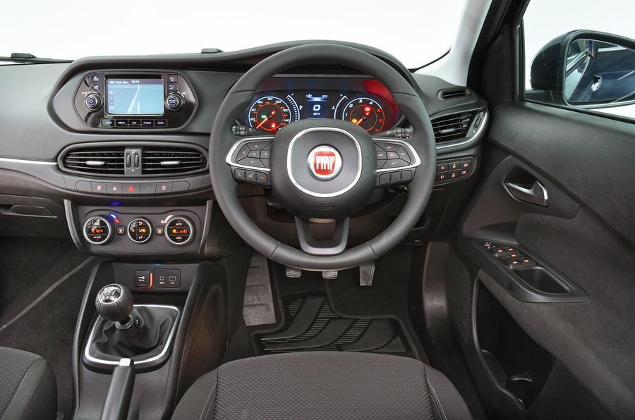 Fiat Tipo dashboard