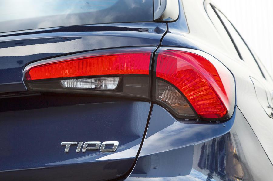 Fiat Tipo rear lights