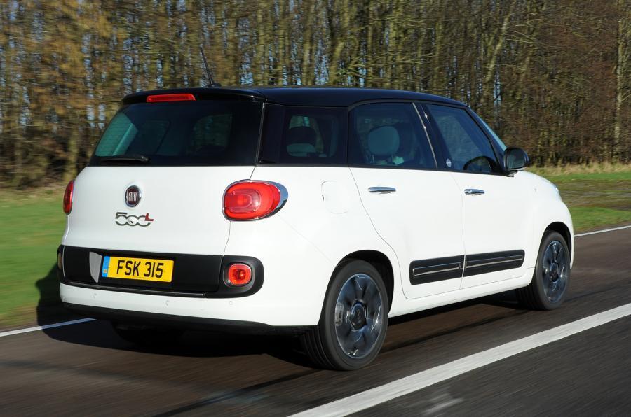 Fiat 500L MPW rear