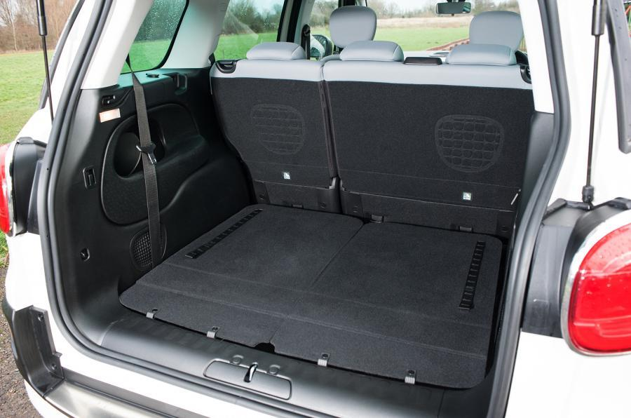 Fiat 500L MPW boot space