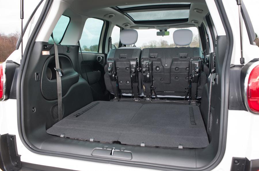 Fiat 500L MPW seat flexibility