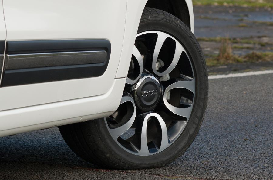 Fiat 500L MPW alloy wheels