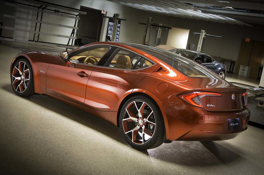 New York show: Fisker Atlantic