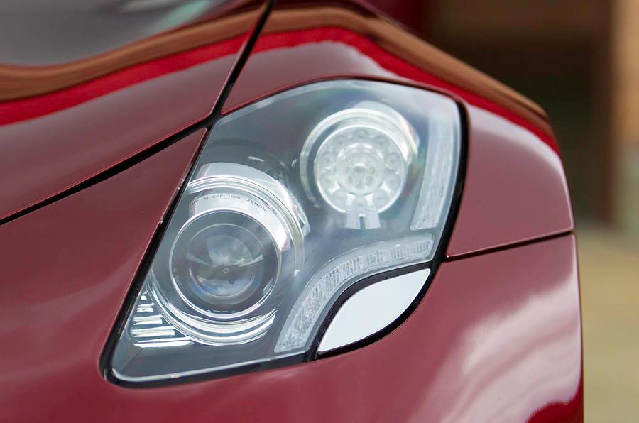 Fisker Karma headlights